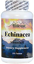 Echinacea plus Vitamin C 275 Tablets Item 438